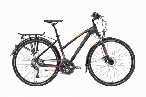 Gepida Alboin 500 női trekking kerékpár Fekete