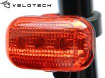 Velotech 3LED hátsó lámpa