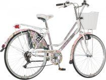 Visitor Oltenia rózsás városi kerékpár LEGJOBB AJÁNLAT fehér
