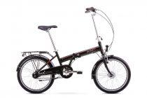 Romet Wigry 8 kerékpár Fekete