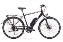 Romet ERT 100 Man elektromos trekking kerékpár Fekete