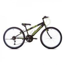 """Adria Spam 24"""" gyerek kerékpár Fekete-Zöld"""