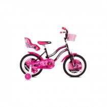 Adria Fantasy 16 kerékpár Fekete-Rózsaszín