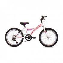 Adria Stinger 20 kerékpár Fehér-Rózsaszín
