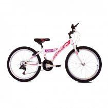 Adria Stinger 24 kerékpár Fehér-Rózsaszín