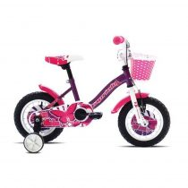 Capriolo Viola 12 gyermek kerékpár lila