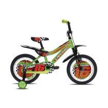 Capriolo Kid 16 gyermek kerékpár zöld
