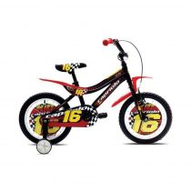 Capriolo Kid 16 gyermek kerékpár fekete