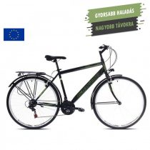 Capriolo Sunrise Man férfi trekking kerékpár Fekete-Zöld
