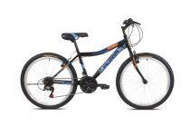 """Adria Stinger 24"""" Shimano gyerek kerékpár Fekete-Kék"""