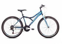 """Capriolo Diavolo 600 26"""" férfi MTB kerékpár 17"""" Grafit-Kék"""