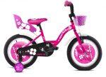 """Capriolo Viola 16"""" gyerek kerékpár Rózsaszín"""