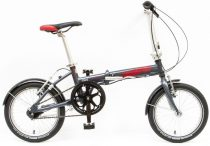 Csepel Mini 200 összecsukható kerékpár Grafit