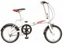 Csepel Mini 200 összecsukható kerékpár Fehér
