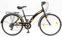 Schwinn Csepel Mustang 24 gyermek kerékpár Fekete