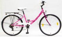 Schwinn Csepel Flora 24 gyermek kerékpár Pink