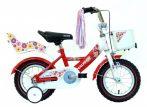 Hauser Swan 12 gyermek kerékpár Fehér-Piros
