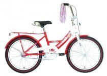 Hauser Swan 20 gyermek kerékpár Fehér-Piros