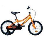Biketek Smile fiú 16 gyermek kerékpár narancs