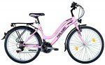 Koliken Cherry női felszerelt ATB kerékpár rózsaszín