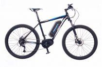 """Neuzer E-650B férfi 17"""" pedelec kerékpár Fekete"""