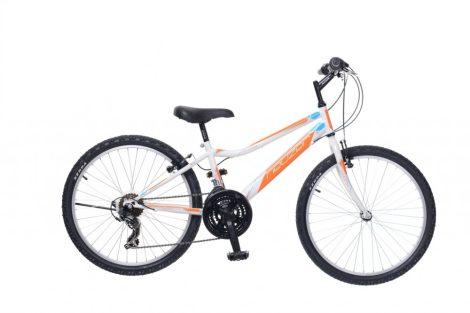 Neuzer Bobby 24 18 gyermek kerékpár Fehér