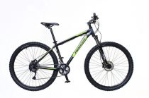 """Neuzer Jumbo Comp 17"""" 29er kerékpár Fekete-Zöld"""