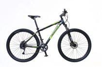"""Neuzer Jumbo Comp 19"""" 29er kerékpár Fekete-Zöld"""
