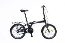 Neuzer Fold-up 20 összecsukható kerékpár Fekete