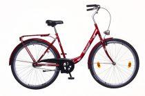 Neuzer Balaton 28 3 seb. városi kerékpár Bordó