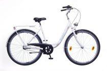 Neuzer Balaton 28 3 seb. városi kerékpár Fehér