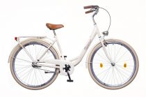 Neuzer Balaton Prémium 28 3 seb. városi kerékpár Krém-Barna
