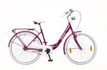 Neuzer Balaton Prémium 28 3 seb. városi kerékpár Padlizsán