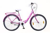Neuzer Balaton Plus 3 seb. városi kerékpár Pink