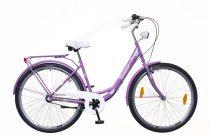Neuzer Balaton Plus 3 seb. városi kerékpár Lila
