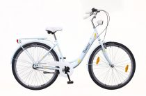 Neuzer Balaton Plus 3 seb. városi kerékpár Világoskék
