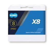 KMC X8 Silver lánc