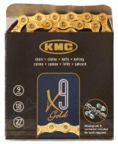 KMC X9 Gold lánc