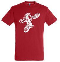 BMX férfi póló több színben