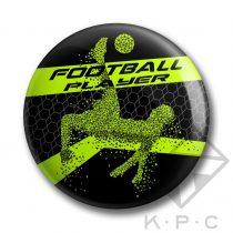 KPC Player 01 kitűző