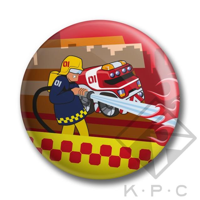 KPC Firechief 02 kitűző - Kerékpárwebshop.eu Kerékpár Webáruház 80656a11c7