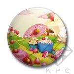 KPC Cupcake 01 kitűző