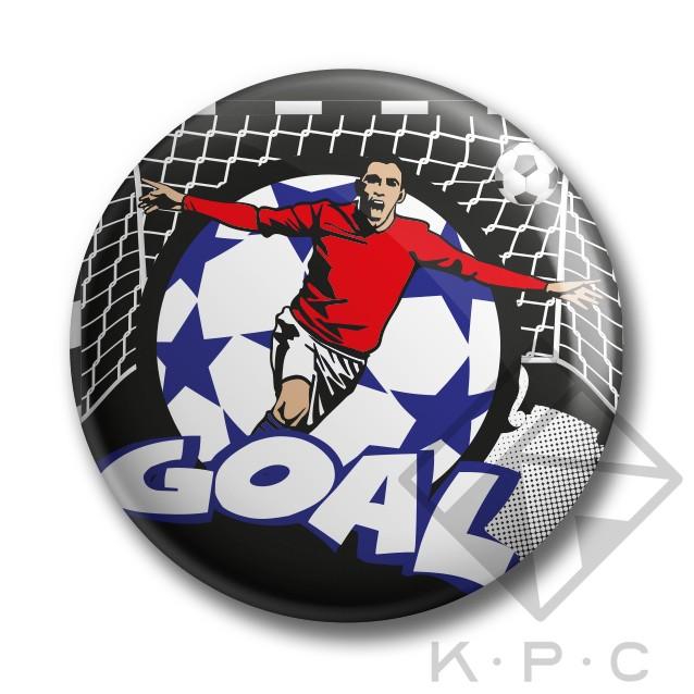 KPC Goal 02 kitűző - Kerékpárwebshop.eu Kerékpár Webáruház 53a50d2d43
