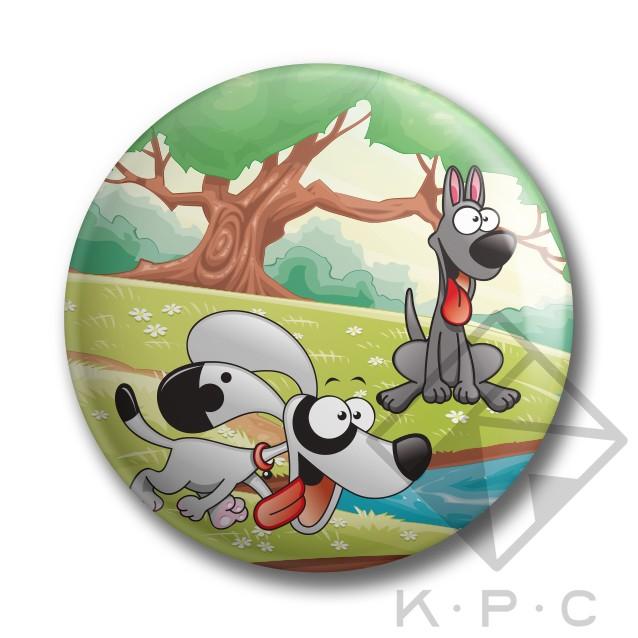 KPC Puppy Love 01 kitűző - Kerékpárwebshop.eu Kerékpár Webáruház c435f80da5