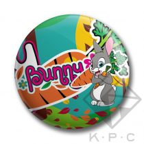 KPC Bunny 02 kitűző