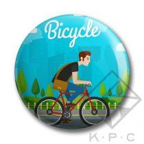 Bicycle kulcstartó