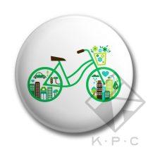Greenbike kulcstartó