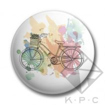 Color bike kulcstartó