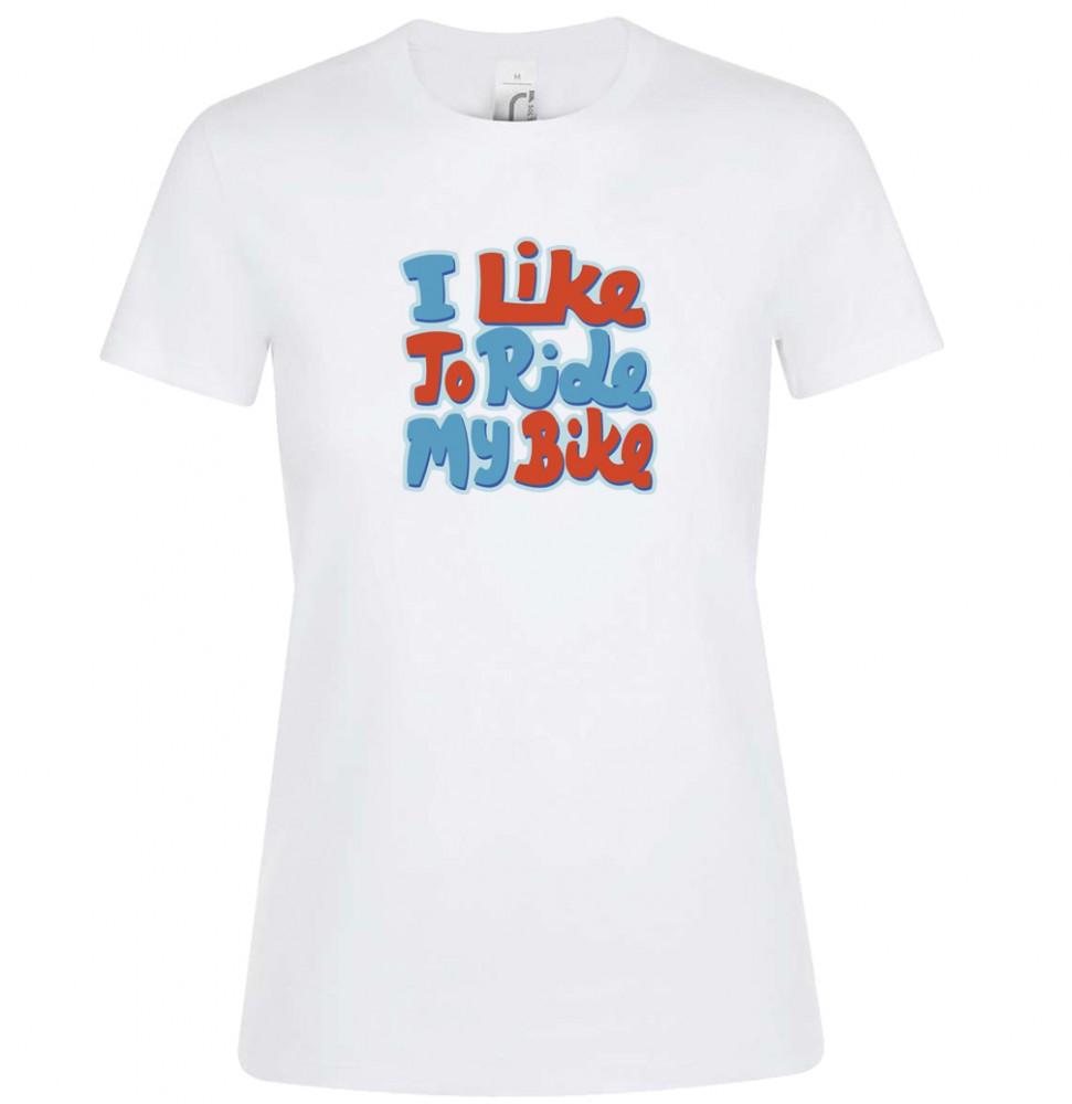 I like my bike női póló több színben - Kerékpárwebshop.eu Kerékpár ... ea523b384e