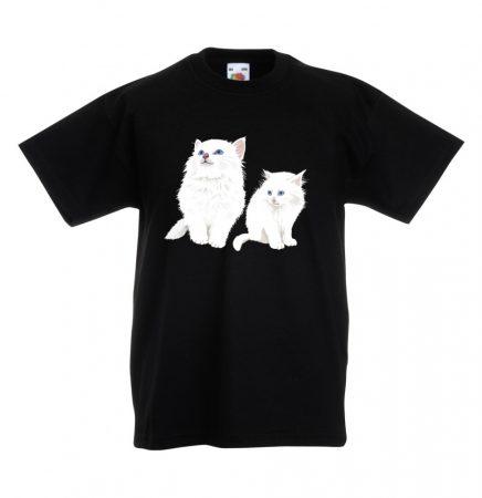 Snow Kitty 01 gyerek póló több színben